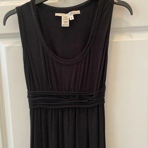Fitted Black Maxi Dress